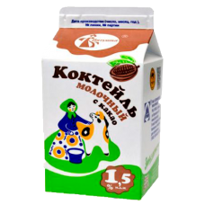 Коктейль молочный с какао