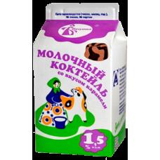 Коктейль молочный со вкусом карамели